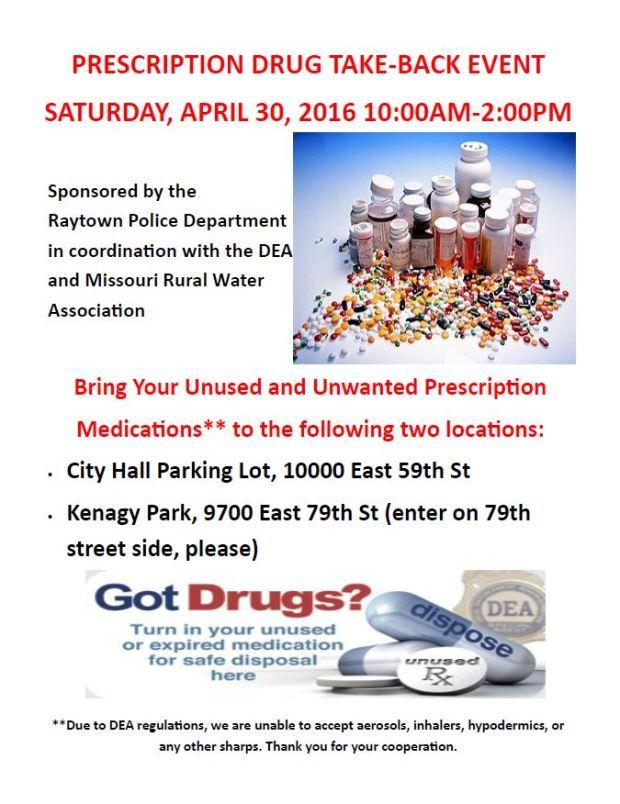 Drug Take-Back April 2016