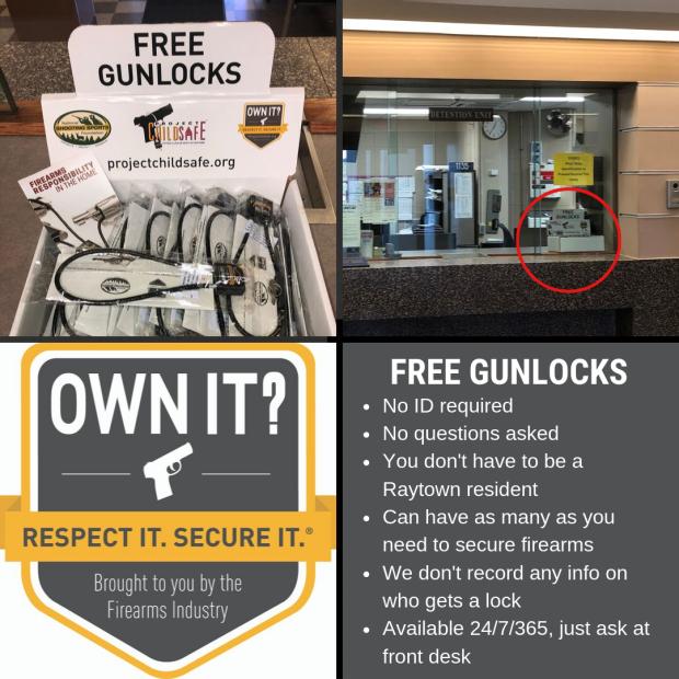 Rls 092519 9pm gun locks